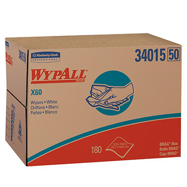 WypAll X60 Wipers - 180 count
