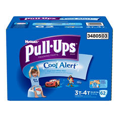 Huggies Cool Alert Pull-Ups Training Pants for Boys (Choose Your Size)