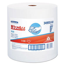 WypAll* - X60 Wipers, Jumbo Roll, 12 1/2 x 13 2/5 -  1100 Towels/Roll