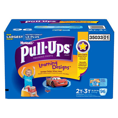 Huggies Pull-Ups Training Pants Boys (Choose Your Size)