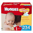 Huggies Little Snugglers Diapers Economy Pack, Size 1 (8-14 lbs.), 234 ct.