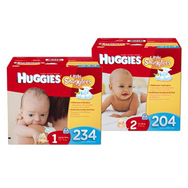 Huggies Little Snugglers Diapers Economy Pack (Choose Your Size)