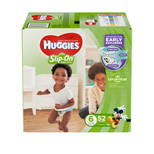 Huggies Little Movers Slip-On Diaper Pants Super Pack (Choose Your Size)