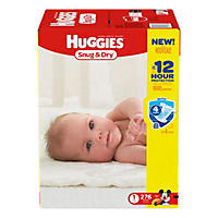 Huggies Snug & Dry Diapers Economy Pack (Choose Your Size)