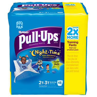 Huggies Night Time Pull-Ups Training Pants Boys (Choose Your Size)