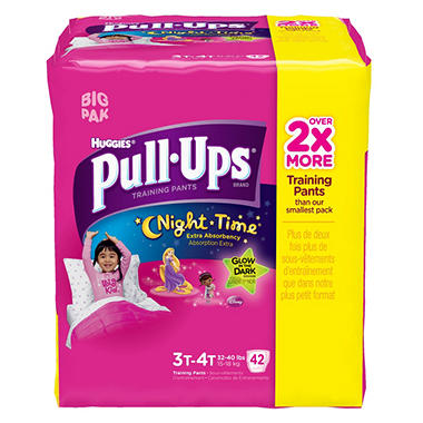 Huggies Night Time Pull-Ups Training Pants Girls (Choose Your Size) (copy)