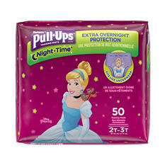 Huggies Pull-Ups Night Time Training Pants for Girls (Choose Your Size)