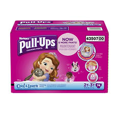 Huggies Pull-Ups Training Pants with Cool & Learn for Girls (Choose Your Size)
