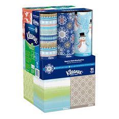 Kleenex Perfect Fit Facial Tissue, 11pk. Combo (8 Lotion Cubes w/ Aloe & Vitamin E & 3 Cubes w/o Lotion)