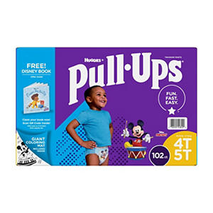 Huggies Pull-ups Traning Pants for Boys (Choose Your Size)
