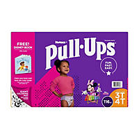 Huggies Pull-ups Traning Pants for Girls (Choose Your Size)