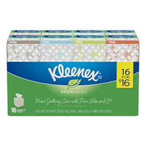 Kleenex Lotion 2-Ply Facial Tissue (16 pk.)