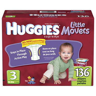 Huggies® Supreme Little Movers Diapers - size 3