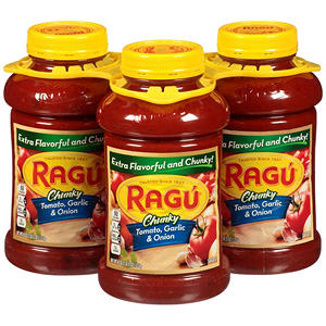 Ragú® Chunky Tomato, Garlic & Onion - 3/45 oz.