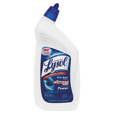 Lysol - Power Toilet Bowl Cleaner - 32 oz