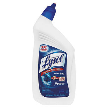 Lysol - Power Toilet Bowl Cleaner - 32 oz