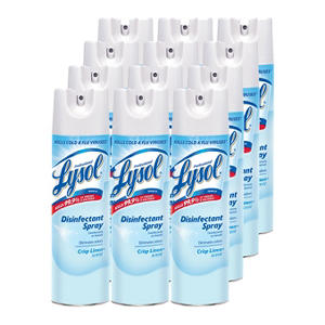 Lysol Disinfectant Spray - Crisp Linen Scent - 19 oz. - 12 pk.
