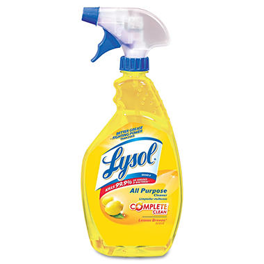 Lysol Complete Clean All-Purpose Cleaner - Lemon Breeze - 32 oz.