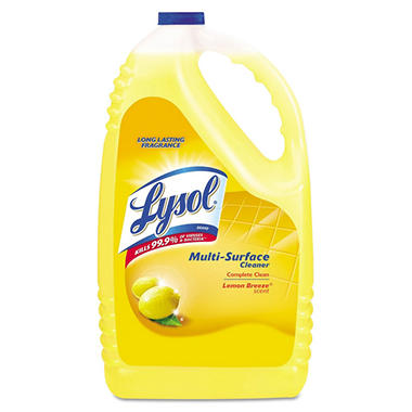 Lysol - All-Purpose Cleaner, Lemon Breeze - 144 oz.