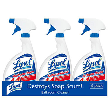 Lysol Bathroom Cleaner - 32 fl. oz. - 3 pk.