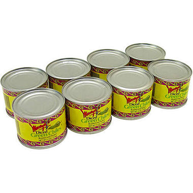 Macayo's Fire Roasted Diced Green Chile - 8/4oz