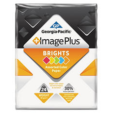 "GP - Image Plus, Brights Paper, 24 lb.,  8-1/2"" x 11"", 1 Ream - 500 Sheets"