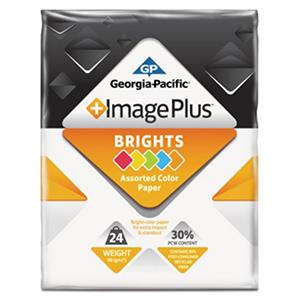 "GP - Image Plus, Brights Paper, 24 lb.,  8-1/2"" x 11"", 1 Ream - 500 Sheets"