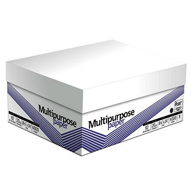 GP - Image Plus, Multipurpose Paper, 20 lb., 92 Brightness, 8-1/2? x 14?, 8 Reams - 4,000 Sheets