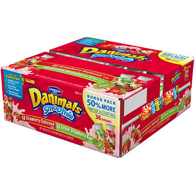 DANIMALS 36CT DRINKABLES