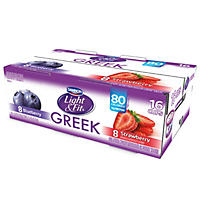 Dannon Greek Yogurt, Light and Fit, Variety Pack (5.3 oz., 16 ct.)