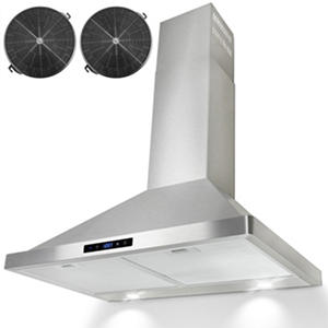 "AKDY 30"" Wall Mount Ventless Range Hood"