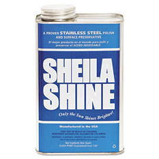 Sheila Shine - Stainless Steel Cleaner & Polish, 1gal Can -  4/Carton