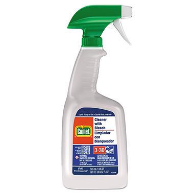Comet Cleaner w/Bleach - 32oz Trigger Spray Bottle