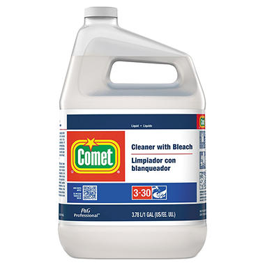 Comet Liquid Cleaner with Bleach - 1 gal.