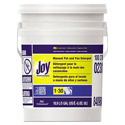 Joy - Dishwashing Liquid, Lemon -  5gal Pail