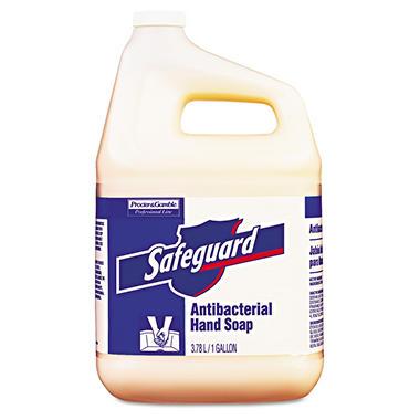 Safeguard Antibacterial Liquid Hand Soap, 1 gal. Bottle -  2/Carton