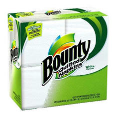 Bounty Napkins - 400 ct.