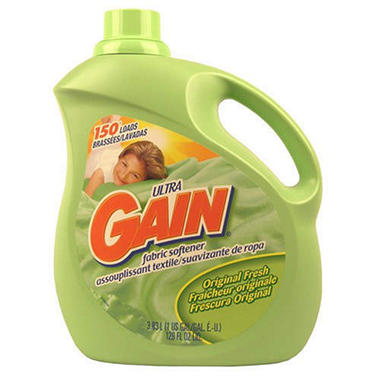 Gain Fabric Softener Original Fresh - 129 oz.