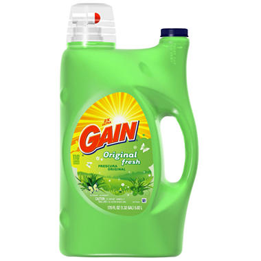 Ultra Gain® Original Liquid Detergent - 170 oz.