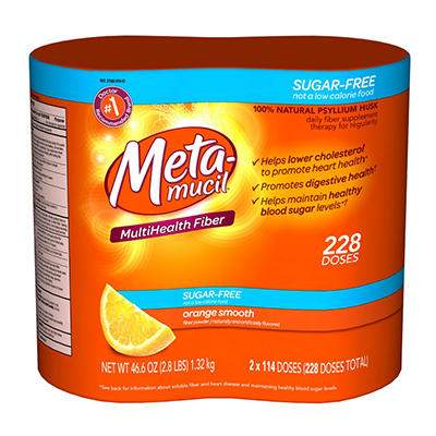 Metamucil Sugar Free Value Pack - 228 doses