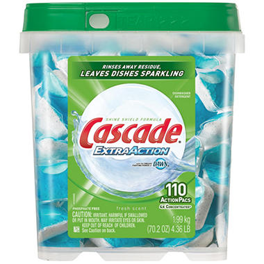 Cascade® Action Pacs® - Dish Detergent