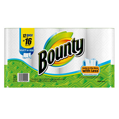 Bounty Jumbo Paper Towels - 12 pk.