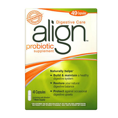 Align Daily Probiotic Supplement - 49 ct.
