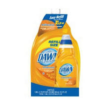 Dawn Antibacterial Orange 56oz. + 10.3 oz.
