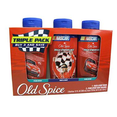 Old Spice Bodywash - 3 ct. - 12 oz. each