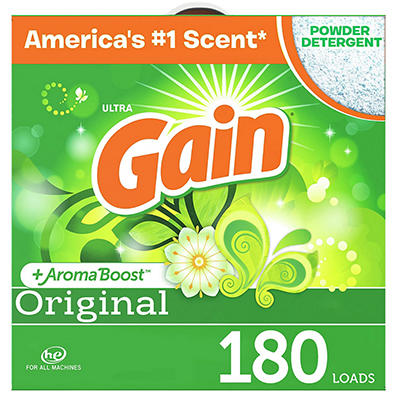 Gain Ultra Powder Laundry Detergent - Original - 206 oz. - 180 loads
