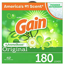 Gain Ultra Powder Laundry Detergent - Original - 206 oz. - 180 loads