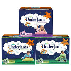 Pampers UnderJams Absorbent Night Wear, Boys (Choose Your Size)