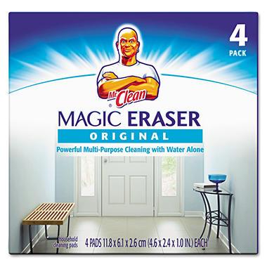 Mr. Clean Magic Eraser - 4 ct