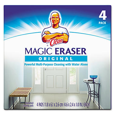 Mr. Clean Magic Eraser - 4 ct